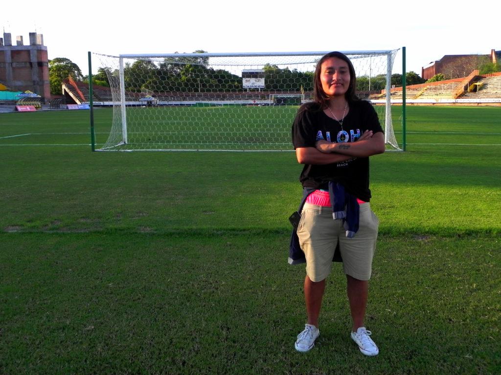El mérito incalculable de la futbolista huilense Angie Jiménez