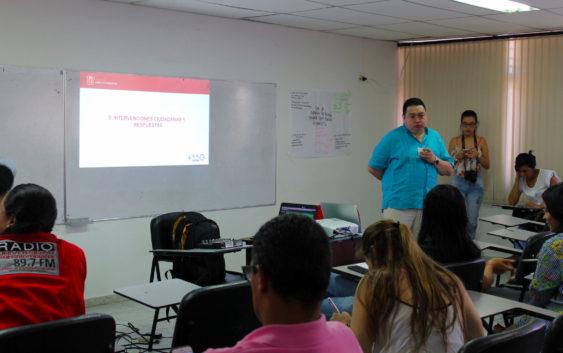 Decano de la Facultad de Ciencias Sociales y Humanas de la Usco realizó Rendición de Cuentas del año 2017