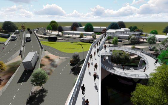 Impactos de la construcción del intercambiador vial frente a la Universidad Surcolombiana