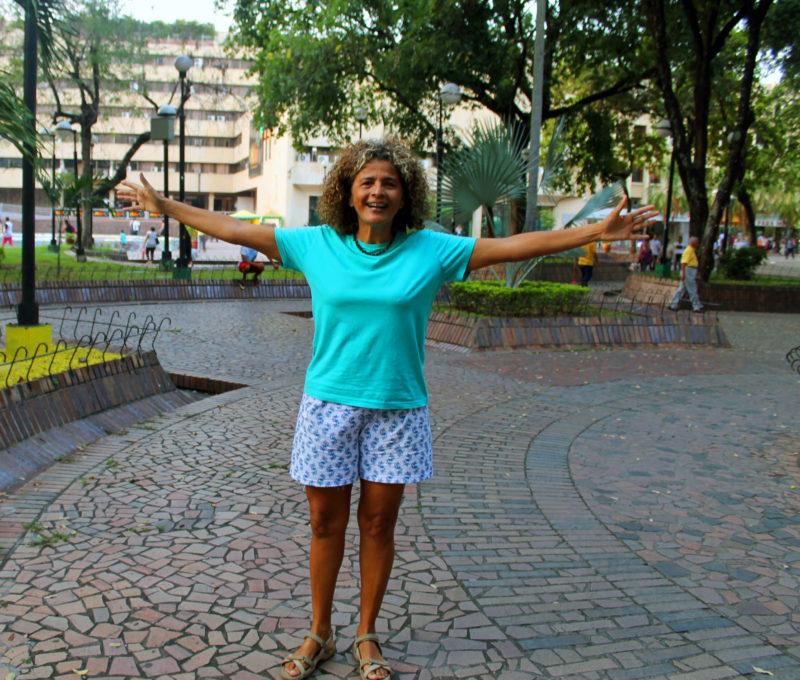 Una Brasileña con Corazón Tricolor