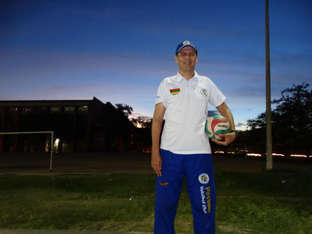 Juan Carlos Poveda, el voleibol y otras formas de vida en Neiva