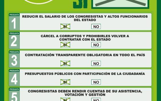 El corrupto se irá a la cárcel y no a la casa: el punto 2 de la Consulta Anticorrupción