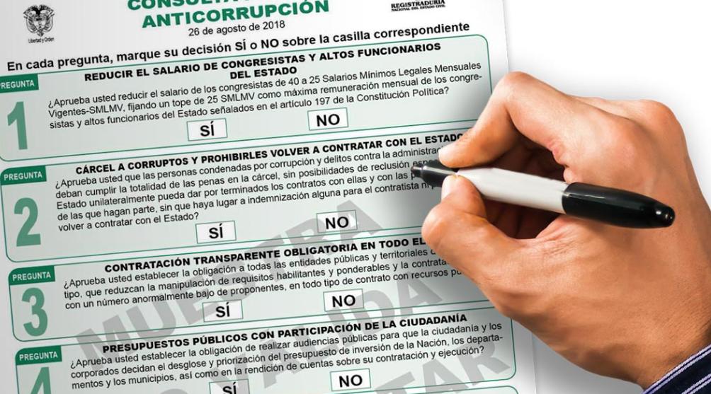 """""""La corrupción en Colombia no tiene futuro"""", Claudia López."""
