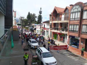 La Usco se movilizó en Pitalito en apoyo al pliego nacional de la UNEES