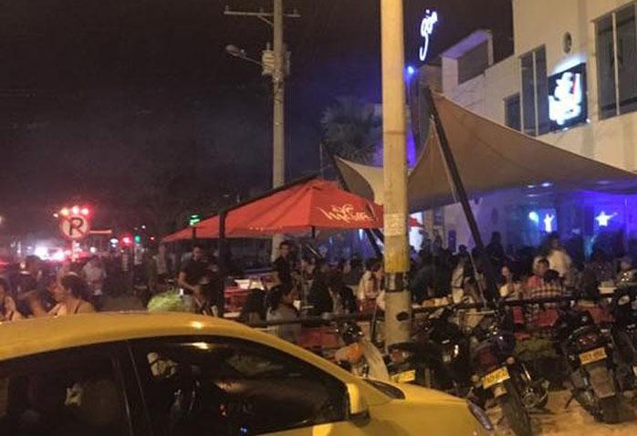 Vecinos de la  zona rosa de Pitalito reclaman soluciones a las autoridades