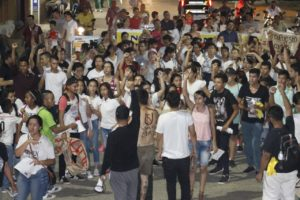 Algeciras se mueve en apoyo a Paro en la Usco