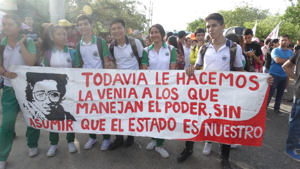 Continúan las movilizaciones para exigir al Gobierno negociar el pliego de exigencias con el Frente Amplio por la Educación