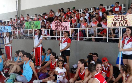 Se realizó en Neiva el Primer Campeonato Deportivo Inter-sedes de la Usco