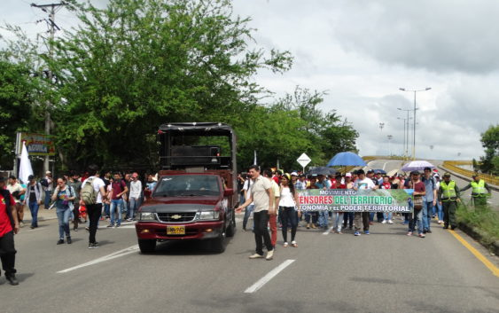 Estudiantes y trabajadores volvieron a las calles de Neiva el 28 de Noviembre