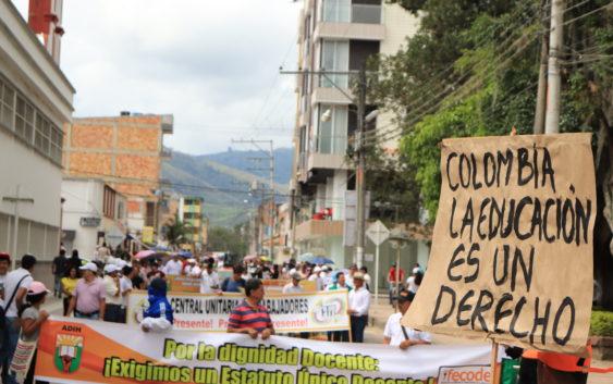 El 28 de noviembre las comunidades del sur del Huila unieron sus voces en Pitalito