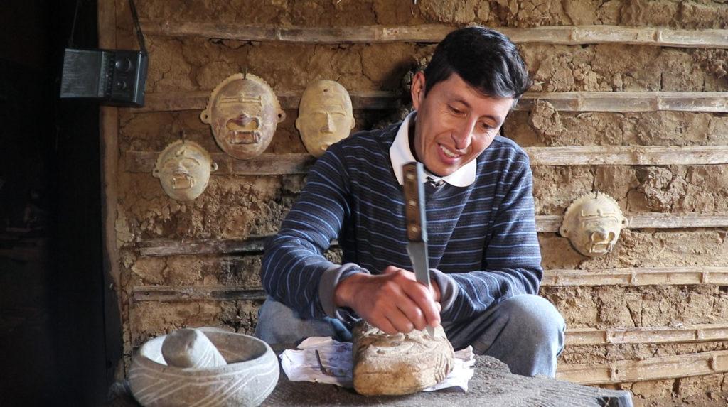 René Gómez, un artesano líder en el sur de Colombia