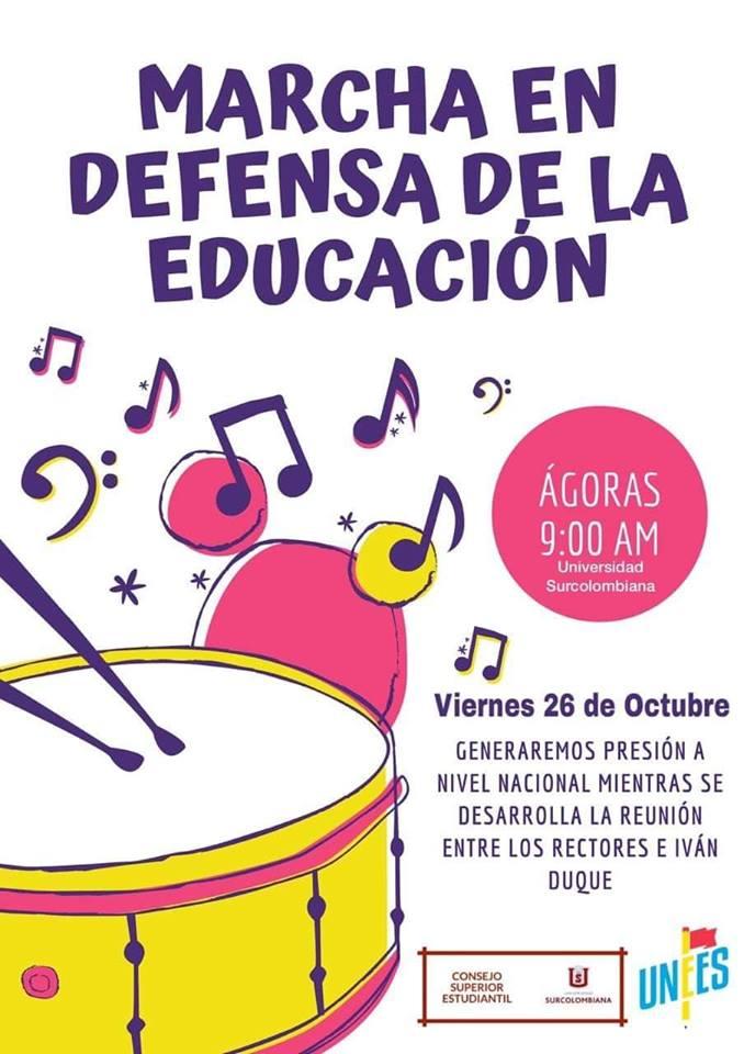 ¡A la calle por la educación!